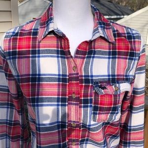 Plaid Flannel Shirt, Very Soft!
